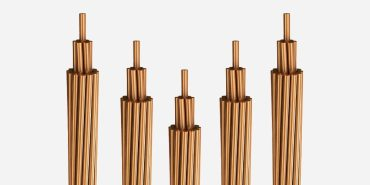 Stranded hard drawn copper conductors for Overhead lines